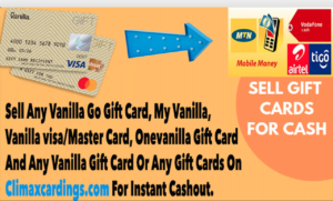 Where To Sell Vanilla Go Gift Card For MoMo